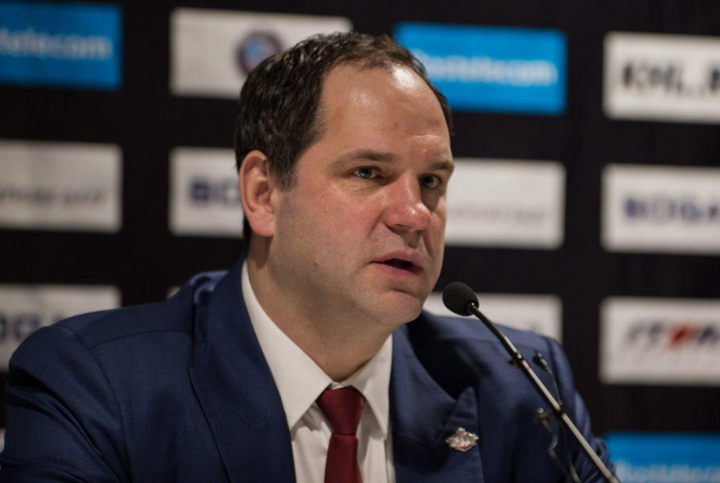 """Ģirta Ankipāna trenētajai Rīgas """"Dinamo"""" KHL pēdējā kārtā ne tikai pašiem jāizcīna uzvara, bet jācer arī uz tiešo konkurentu neveiksmi."""