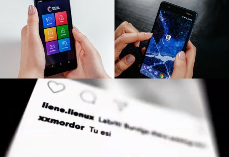 """Latvijas Drošāka interneta centrs (Drossinternets.lv) izstrādājis jaunu mobilo lietotni """"Drošs internets"""", ar kuras starpniecību iespējams anonīmi ziņot par pārkāpumiem internetā vai saņemt eksperta konsultāciju."""