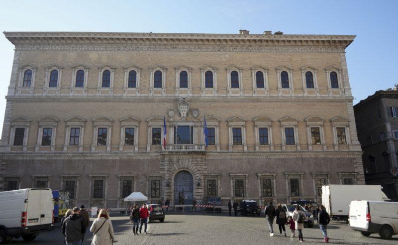 Francijas vēstniecība Romā.
