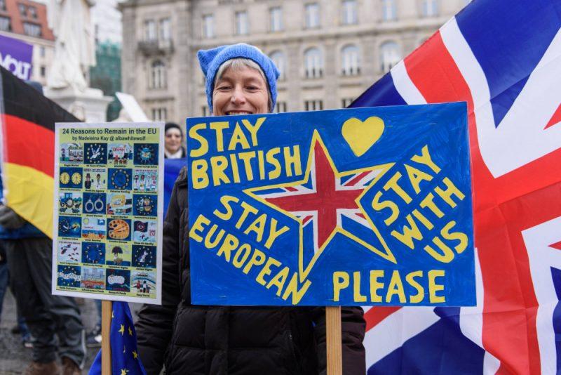 27. janvārī Berlīnē notika demonstrācija, aicinot Apvienoto Karalisti palikt Eiropas Savienībā.