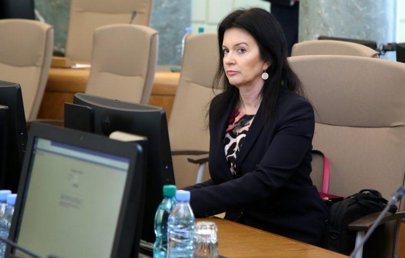 Labklājības ministre Ramona Petraviča.