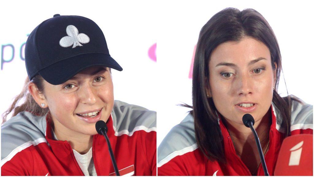 Mūsu tenisa zvaigznes Aļona Ostapenko un Anastasija Sevastova gatavas pārstāvēt Latvijas izlasi.