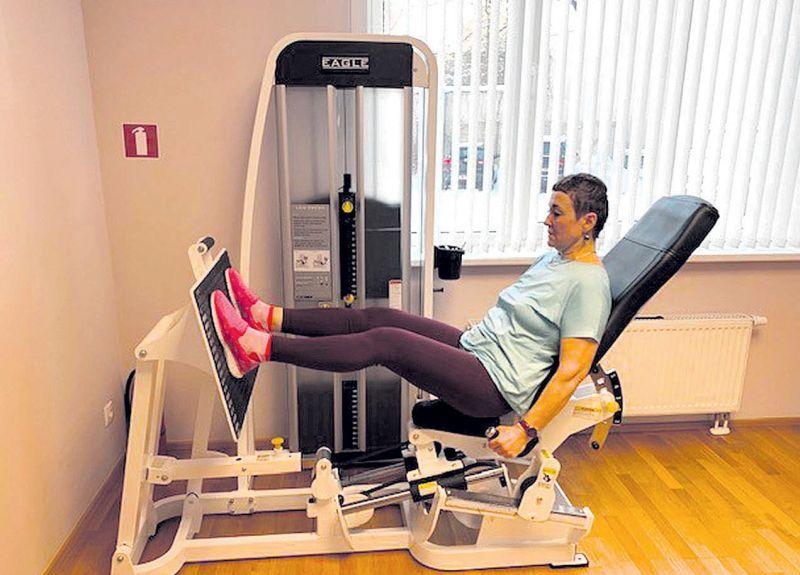 Spēka treniņi onkoloģiskajiem pacientiem uzlabo dzīves kvalitāti par 25%, bet par 20% vairo muskuļu spēku un mazina nogurumu. Pozitīvas izmaiņas pašsajūtā novērojusi arī paciente Dace (attēlā).