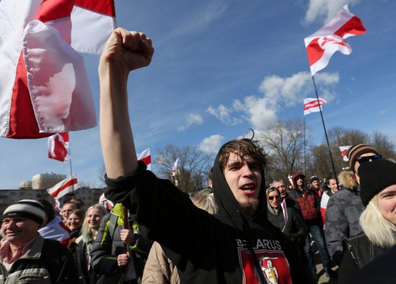 Protests Baltkrievijā, 24.03.2019.