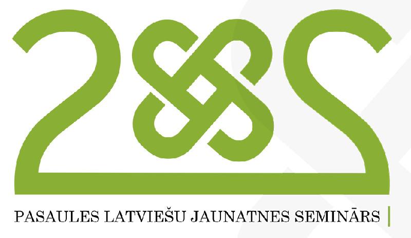 Mākslinieks Uģis Nīgals veidojis arī pasaules latviešu semināra 2×2 logo.