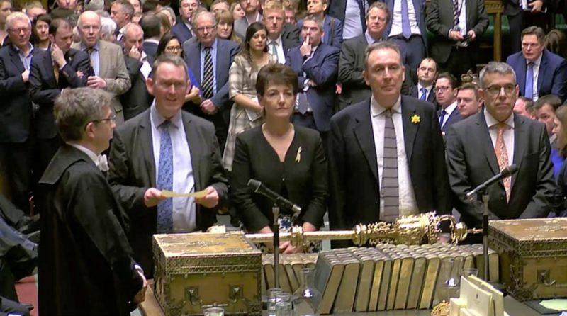 Lielbritānijas parlaments, 14.03.2019.
