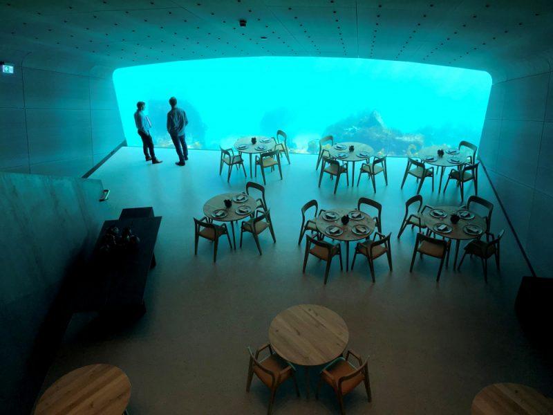 Norvēģijā  atver zemūdens restorānu.