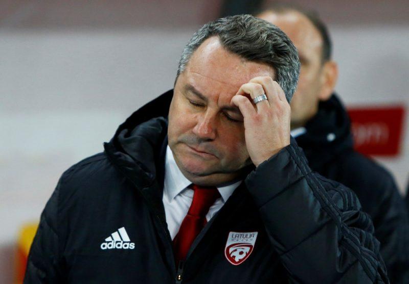 Slaviša Stojanovičs pēc pirmās spēles pie Latvijas izlases stūres kritizēja futbolistus, kuri nav kārtīgi cīnījušies.