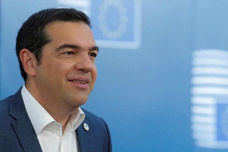 Grieķijas premjerministrs Aleksis Ciprs.