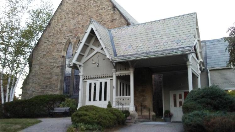 Bostonas latviešu draudzes nams.