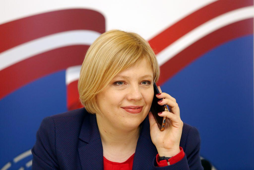 Centrālās vēlēšanu komisijas (CVK) priekšsēdētāja Kristīne Bērziņa
