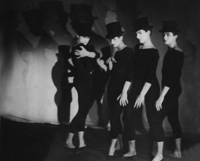 """RīgasPantomīma, izrāde """"Ideja"""", 1966. gads."""