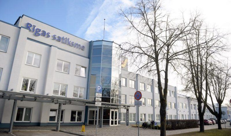 """SIA """"Rīgas Satiksme"""" administratīvā ēka Vestienas ielā."""