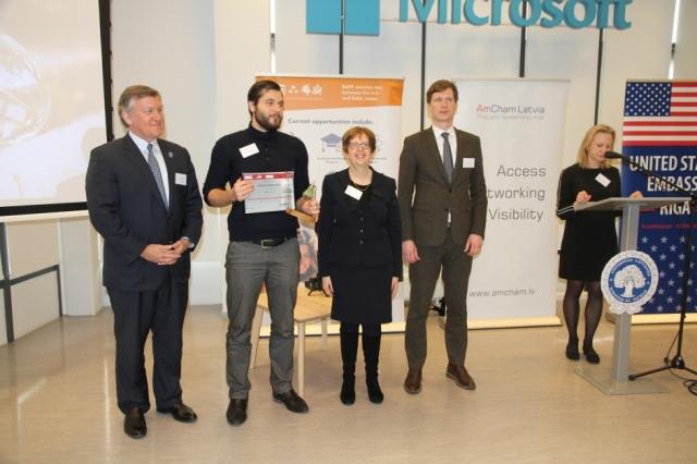 Paziņoti Latvijas-Amerikas Inovāciju balvas uzvarētāji.