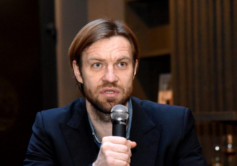 Latvijas Futbola federācijas prezidents Kaspars Gorkšs.