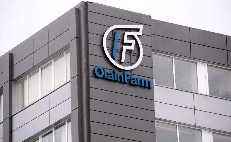 """""""Olainfarm"""" ēka."""