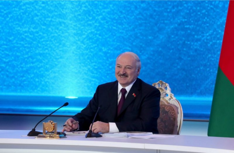 Aleksandrs Lukašenko.