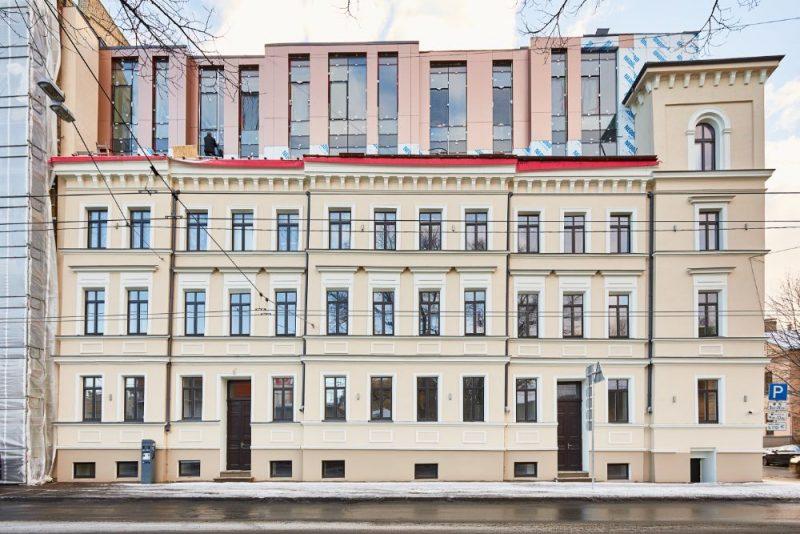 Vēsturiskais nams Rīgā, A. Briāna ielā 4