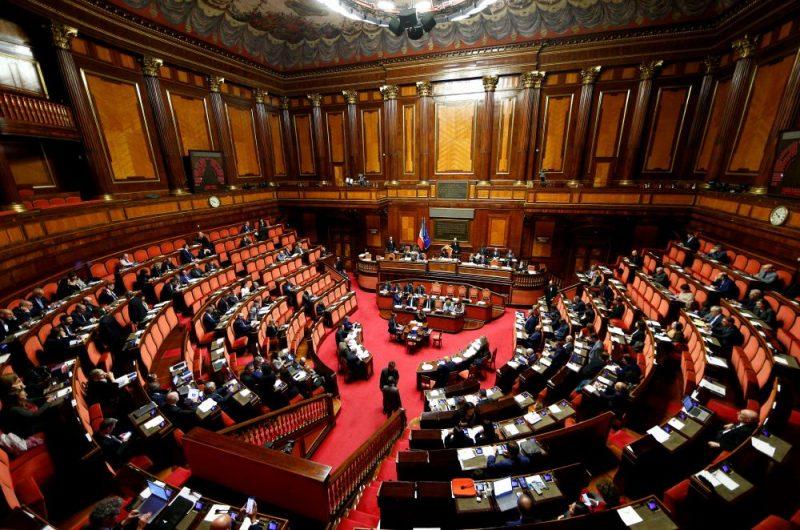Itālijas parlaments.