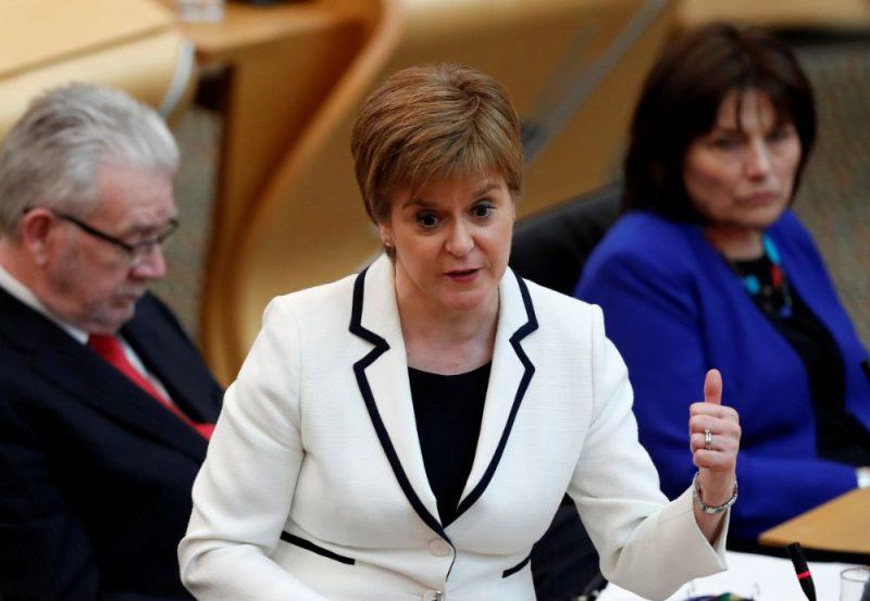 Skotijas premjerministre Nikola Stērdžena