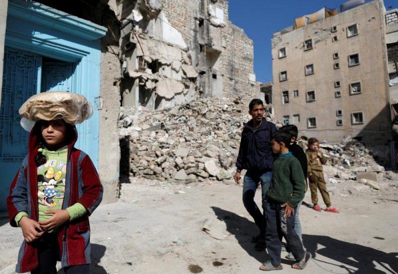 Alepo pilsēta Sīrijā