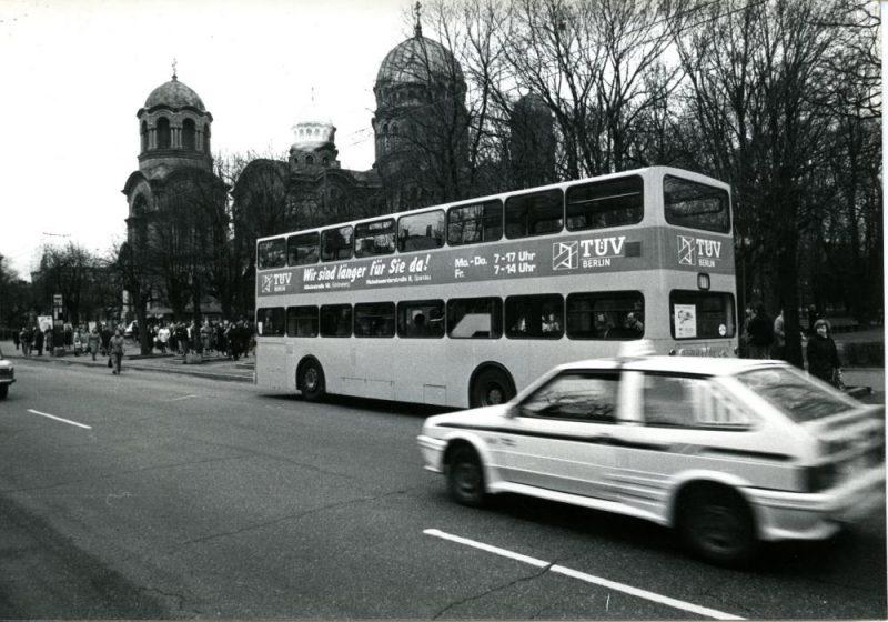 Rīgas Motormuzeja jubilejā apmeklētājus vizinās retro autobuss