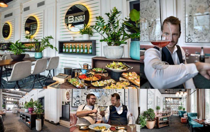 """Atklāj rekonstruēto restorānu """"Bibliotēka No1""""."""