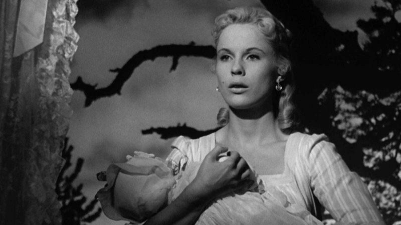 """Bibi Andersone filmā """"Zemeņu lauks"""" (1957)"""