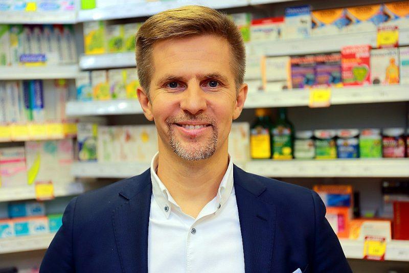 """Dmitrijs Juskovecs, AS """"Sentor Farm aptiekas"""" valdes priekšsēdētājs"""