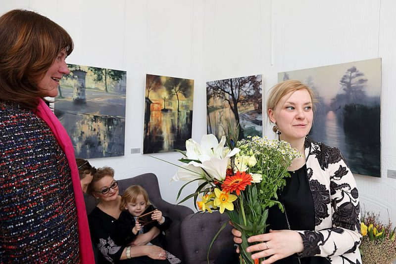 "Alises Mediņas izstāde galerijā Jēkabs"""