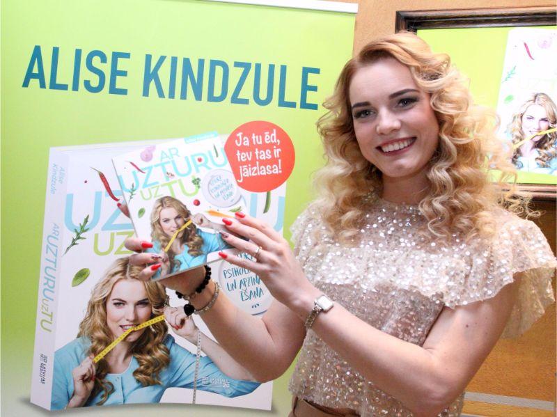 Šodien ir gan Alises Kindzules dzimšanas diena, gan viņas grāmatas atklāšanas svētki.