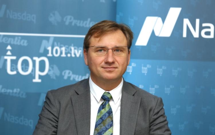 Latvijas Universitātes Biznesa, vadības un ekonomikas fakultātes dekāns Gundars Bērziņš