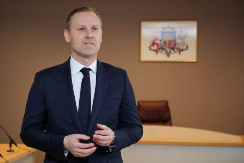 Saeimas deputāts un bijušais advokāts Aldis Gobzems