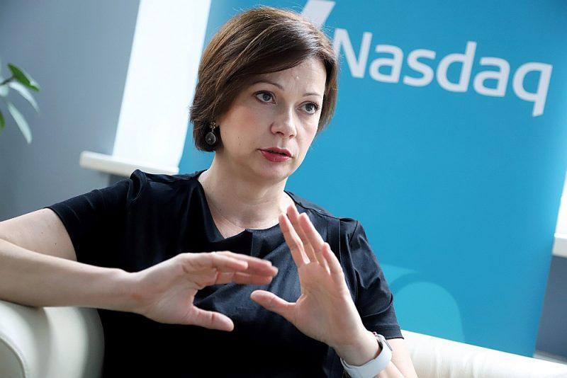 """""""Nasdaq Riga"""" valdes priekšsēdētāja Daiga Auziņa-Melalksne: """"Kapitāla tirgus ir mehānisms, kas palīdz """"snaudošo"""" naudu pārvērst investīcijās un dzen uz priekšu ekonomiku. Izpratnes par to, ko spēj dot kapitāla tirgus, Latvijā nepietiek."""""""
