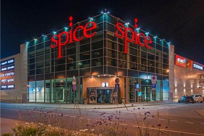 """Tirdzniecības centrs """"Spice""""."""
