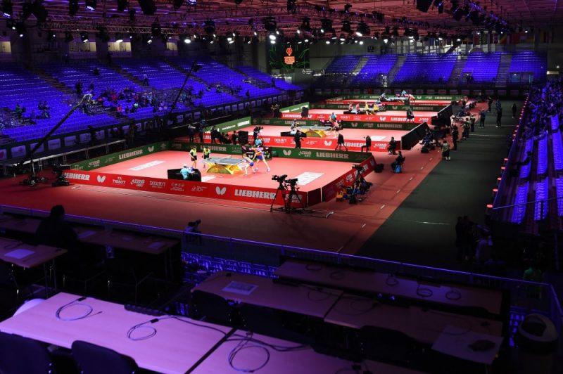 Pasaules čempionāts galda tenisā norit Hungexpo hallē Budapeštā.