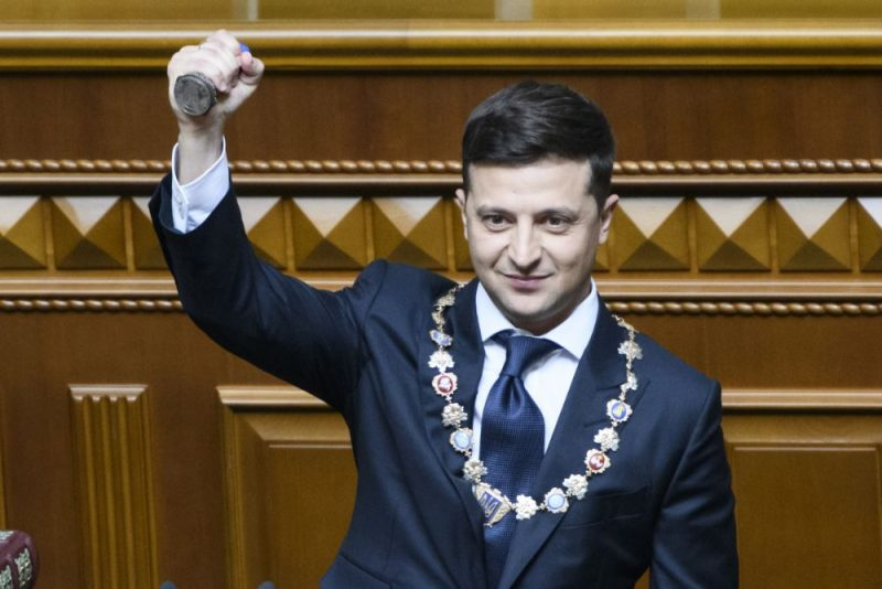 Ukrainas prezidents Volodimirs Zelenskis