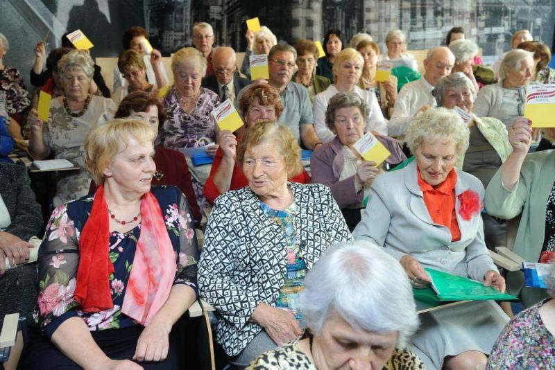 Latvijas Pensionāru federācijas kongress.