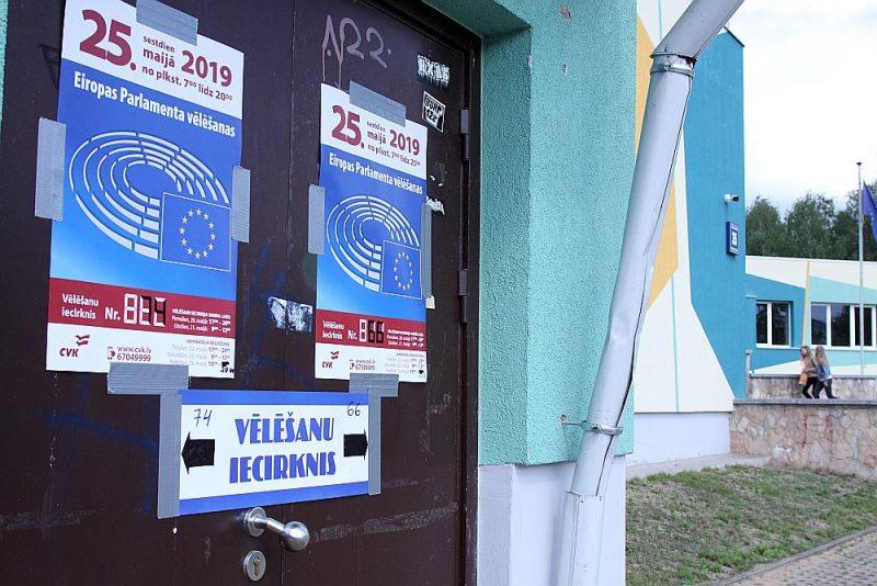 EP vēlēšanas Rīgā 2019. gadā