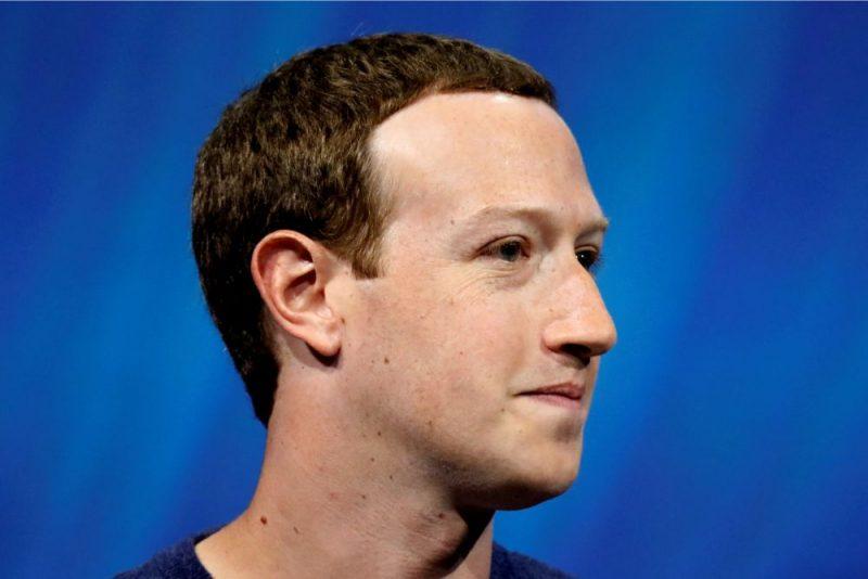"""""""Facebook"""" uzņēmuma vadītājs Marks Zakerbergs."""
