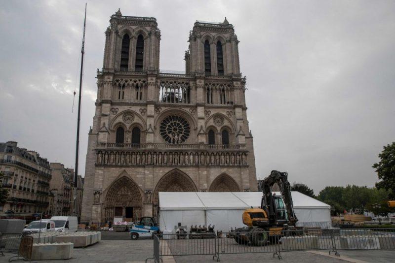 Parīzes Dievmātes katedrāle, 02.05.2019.