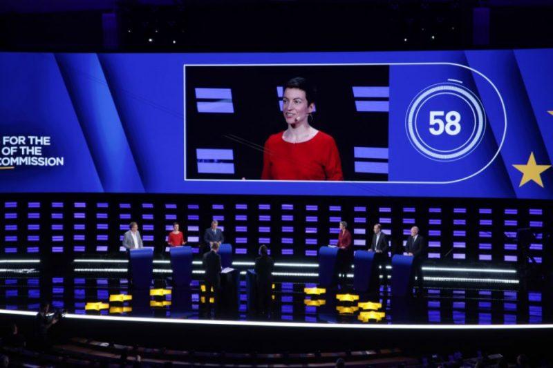 Eiropas Komisijas (EK) prezidenta amata kandidātu debates 2019. gada 15. maijā
