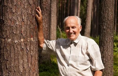Meža zinātnieks Imants Baumanis.
