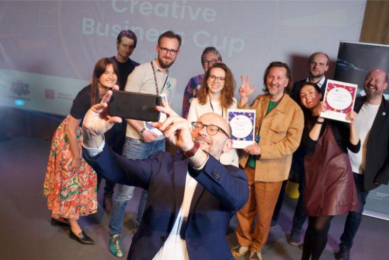 """Noskaidroti """"Creative Business Cup"""" Latvijas uzvarētāji."""