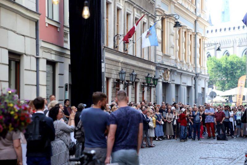22. maijā Vāgnera namā notika  kupli apmeklēta mākslas un mūzikas akcija.