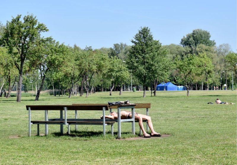 Lucavsalas atpūtas parks.
