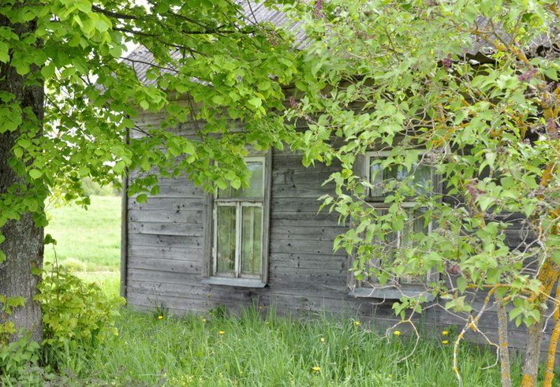 Lauku mājas. Ilustratīvs attēls