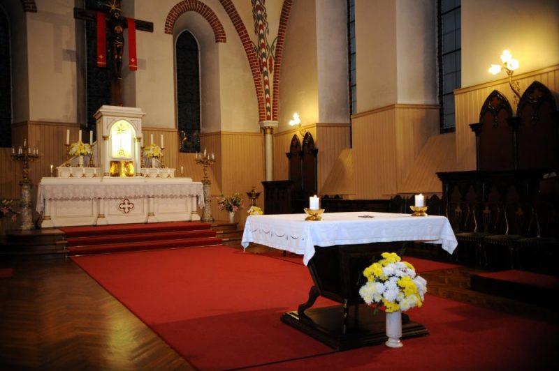 Jēkaba katedrālē. Ilustratīvs attēls