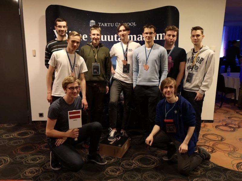 Latvijas jaunajiem programmētājiem četras bronzas medaļas Baltijas informātikas olimpiādē