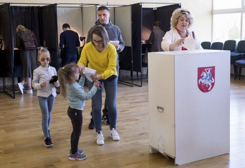 Valsts prezidenta vēlēšanas Lietuvā.